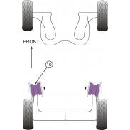 Silentblock de Powerflex para Chevrolet Aveo, Kalos (2002 - 2011)
