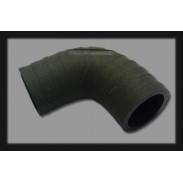 """Codo de caucho de 2"""" (50,8 mm) x 90° resistente a rayos UV"""