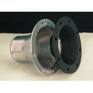 Boca de llenado de aluminio de 4'' para manguera de 2''