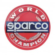 Emblema Sparco World Champion para botón de claxon