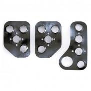 Pedales Sparco aluminio aligerados