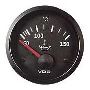 Reloj de temperatura de aceite de diámetro 52 mm