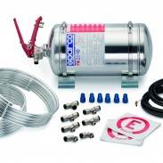 Extintor Sparco de acero 4,25L AFFF mecánico