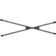 Set de barras laterales OMP en X soldadas con apuntalamientos
