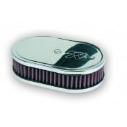 Caja de filtro ovalada