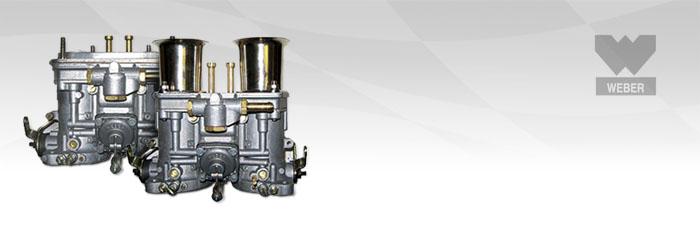 Carburadores Weber verticales