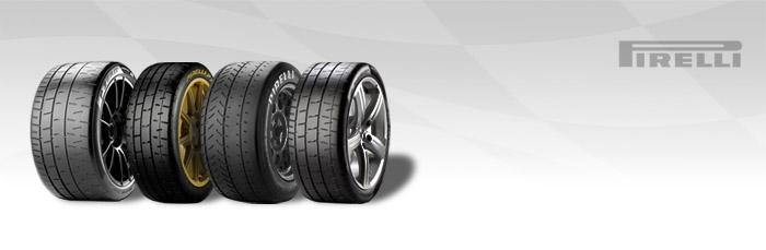 Neumáticos Pirelli semi / racing