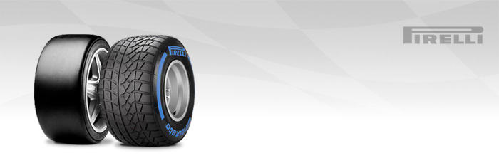Neumáticos Pirelli tipo slick