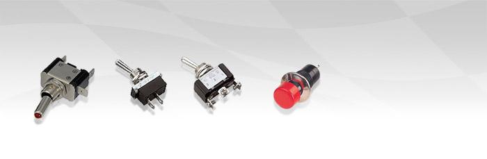Interruptores y pulsadores