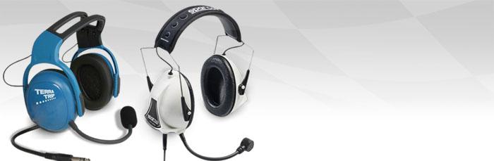 Auriculares para intercomunicación