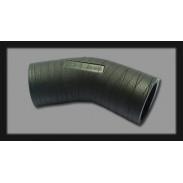 """Codo de caucho de 2"""" (50,8 mm) x 45° resistente a rayos UV"""