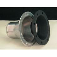 Boca de llenado de aluminio de 4'' para manguera de 2 1/4''