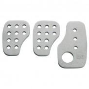 Pedales OMP de aluminio aligerados