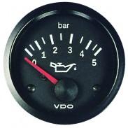 Manómetro de aceite de diámetro 52 mm