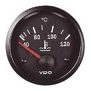 Reloj de temperatura de agua de refrigeración de diámetro 52 mm