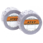 Cinta de protección contra impactos de piedras de PVC transparente Advance de 33 m x 50 mm