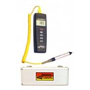 Medidor digital de temperatura Deluxe AccuTech de Longacre