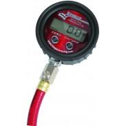 Medidor digital de presión de aire con conexión estrecha